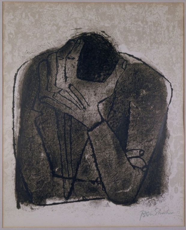 Ben Shahn, Despair, 1968, Gerald Peters Gallery